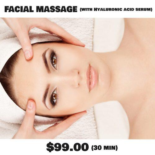 facial massage melbourne